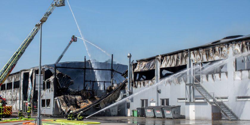 Millionenschaden nach Brand in Indoorspielplatz