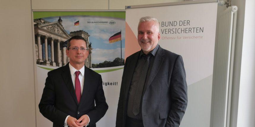 Norman Wirth (links) und Axel Kleinlein (rechts)