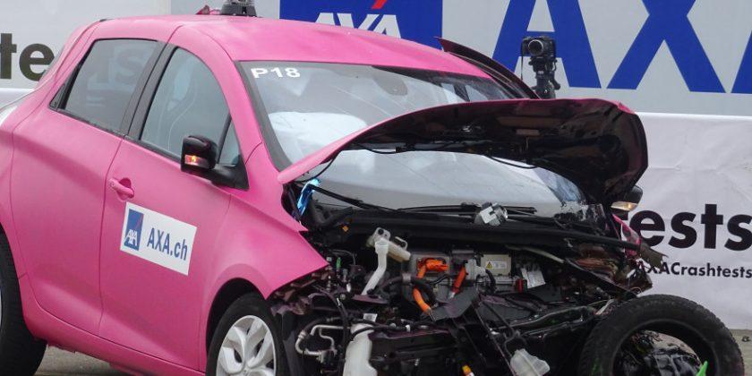 Schadenverhütung als Mega-Event: Axa nutzt Crashtest zur Imagepflege