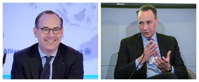 Allianz vs. Axa: Bäte und Buberl auf Konfrontationskurs