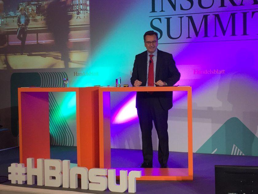 """Munich-Re-Boss Wenning will beim Kunden digital punkten, Generali-Chef Liverani sieht Kundenzentrierung als """"Renaissance des Humanismus"""""""