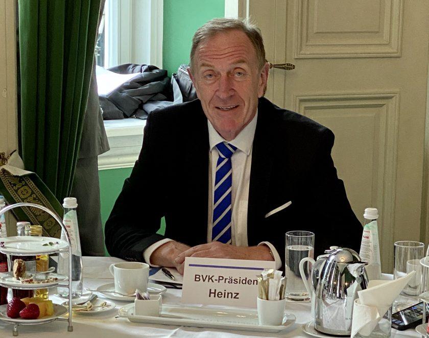 BVK-Präsident Heinz bleibt im Clinch mit Check24 erstaunlich unbeirrt