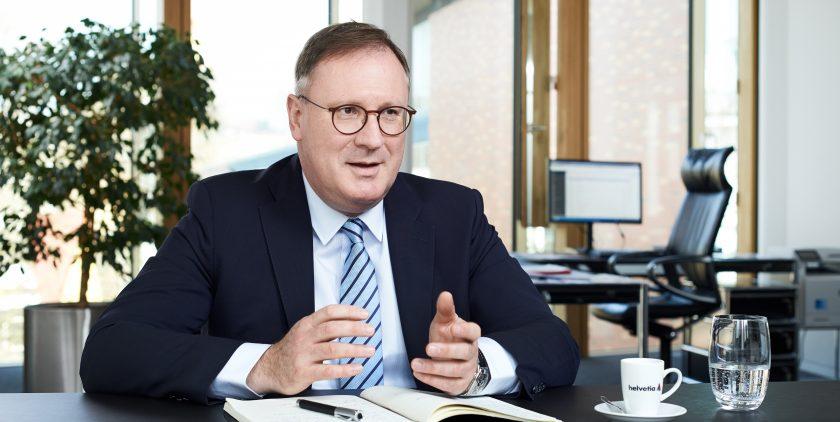 """Helvetia-Vorstand Lanfermann: """"Ein Sachbearbeiter im klassischen Sinne wird künftig nicht mehr ausreichen"""""""