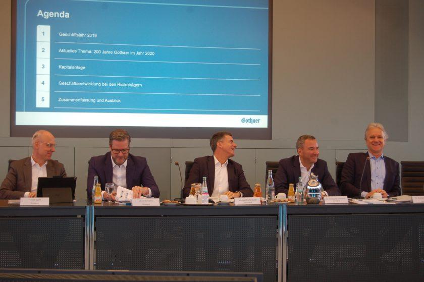 Gothaer-Konzern fährt Ernte der Konsolidierung ein