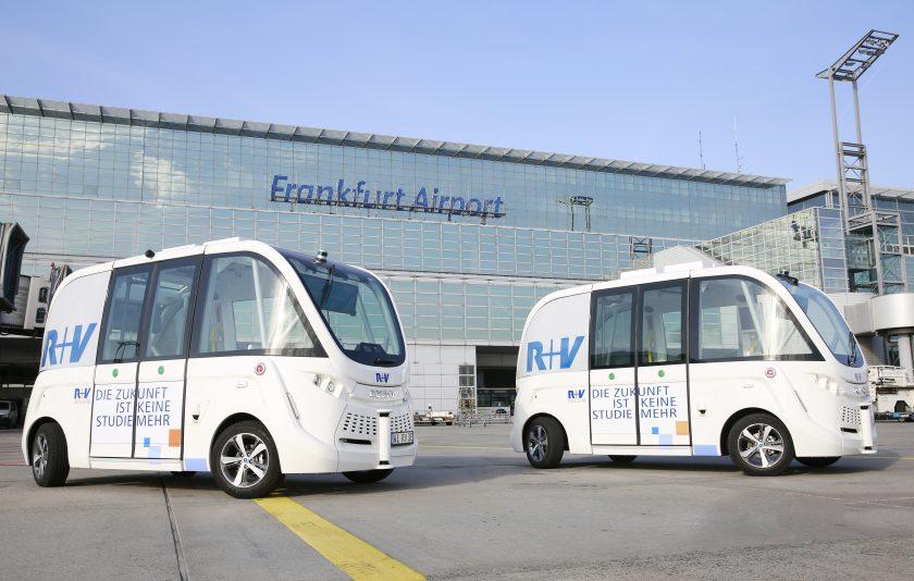 R+V verkauft autonome Busse an den Verkehrsverbund RMV