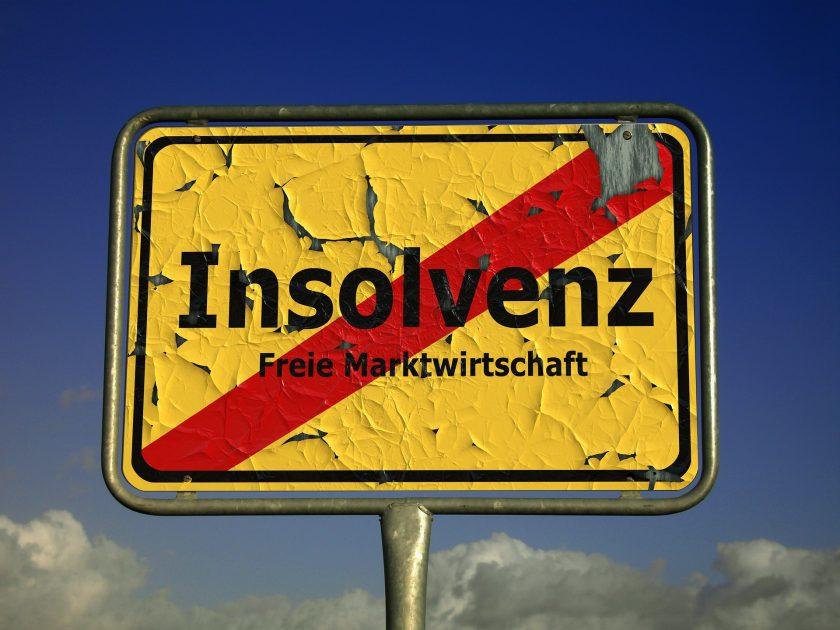 Creditreform: Konjunkurschwäche lässt Insolvenzen in Deutschland ansteigen