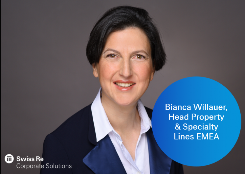 Bianca Willauer wird Head Property & Specialty Lines EMEA bei Swiss Re Corporate Solutions