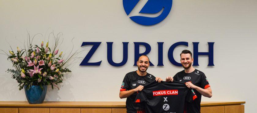 Zurich sponsort E-Sportteam Fokus Clan