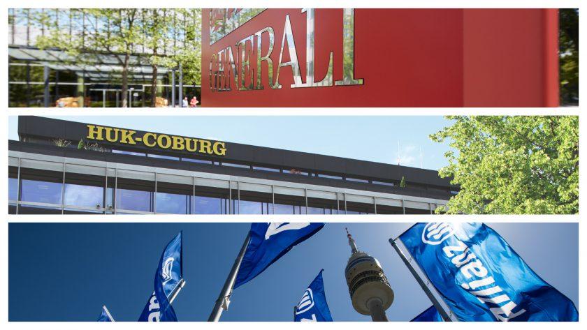 Dreikampf im Direktgeschäft: Allianz im Wettbewerb mit Generali und Huk-Coburg