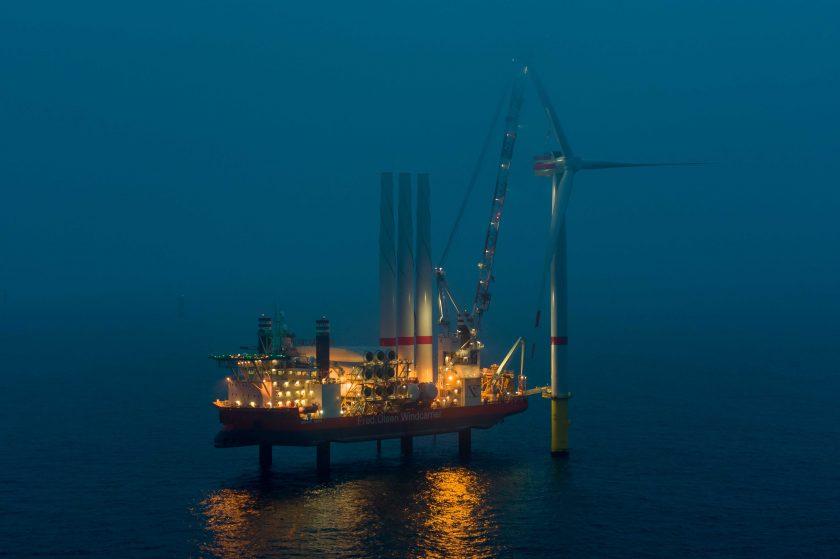 Talanx finanziert Deutschlands größten Offshore-Windpark