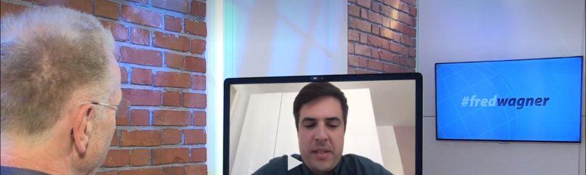 #fredwagner mit Ramin Niroumand liefert interessante Einblicke zu Finleap