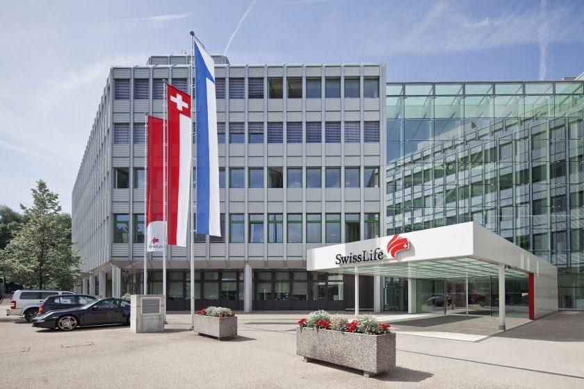 Swiss Life muss Prämienrückgang um 13 Prozent hinnehmen