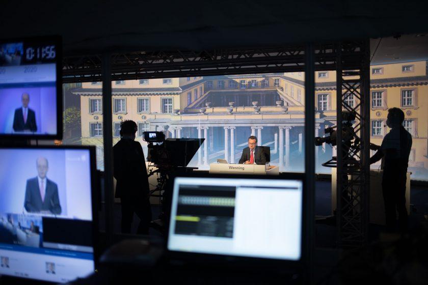 Bilder vom Shutdown: Wenning und Co. allein zu Haus