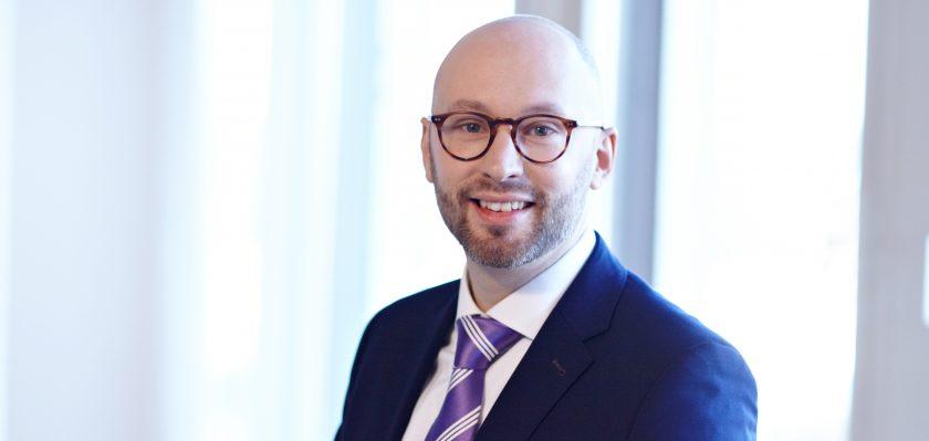 Tobias Winkler leitet künftig den Bereich Erst- und Rückversicherung der Delvag