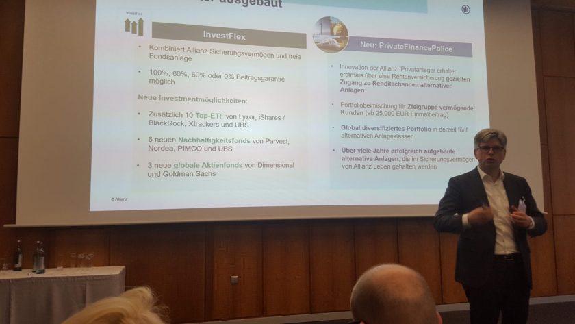 Allianz-Leben-Vorstand Wiesemann schließt Run-off aus