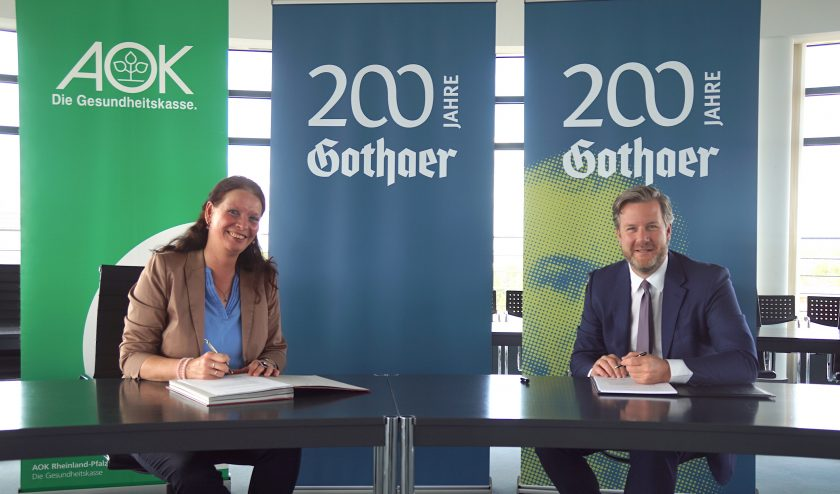 Gothaer kooperiert mit AOK Rheinland-Pfalz/Saarland