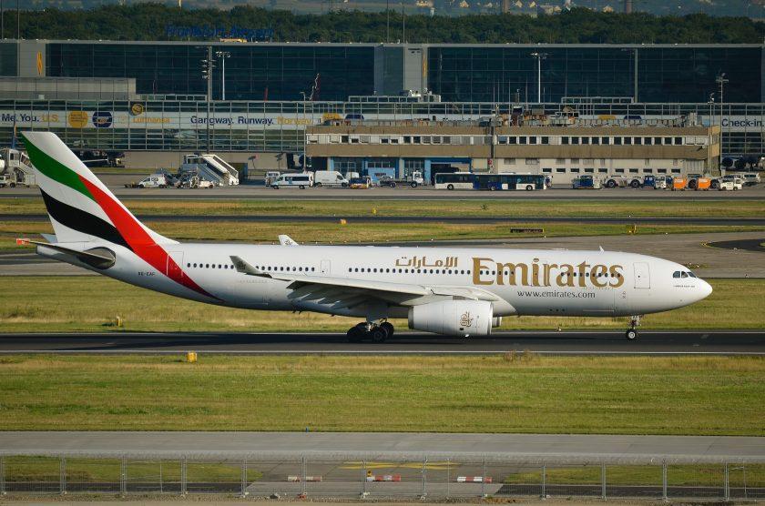 Emirates bietet kostenlosen Versicherungsschutz gegen Covid-19