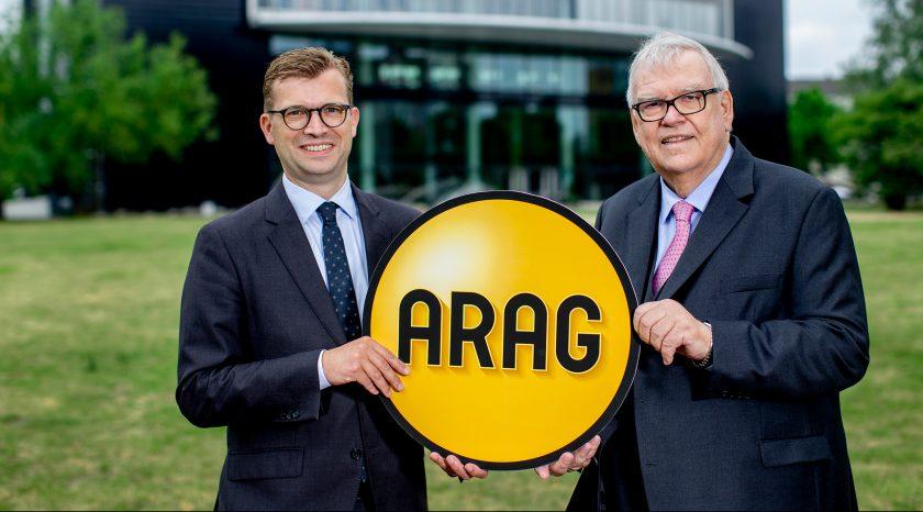 Ende einer Ära bei der Arag: Paul-Otto Faßbender übergibt an Renko Dirksen