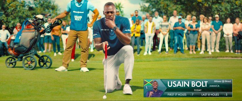 Kfz-Wechselsaison: Allianz Direct gibt nochmal Gas mit Usain Bolt