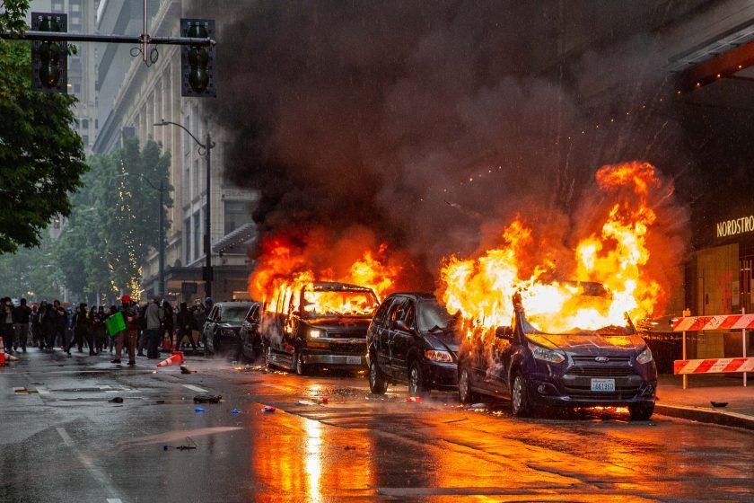 Rassismus-Proteste und Vandalismus kosten Versicherer zwei Mrd. Dollar