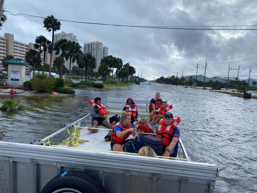 """Hurrikan-Saison außer Kontrolle: """"Sally"""" bringt in vier Stunden so viel Regen wie in vier Monaten"""