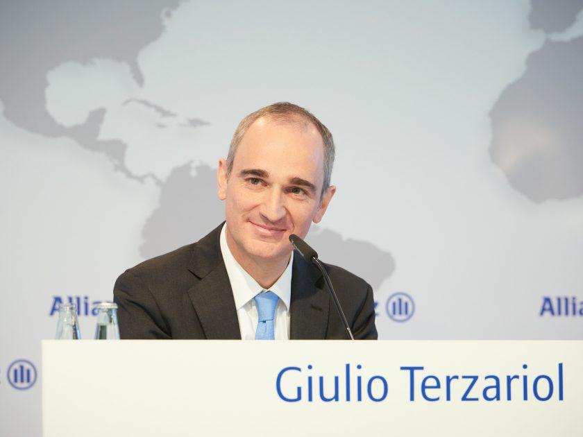 """Allianz-Finanzvorstand Terzariol: """"Allianz hat die Belastungen der Corona-Pandemie recht gut weggesteckt"""""""