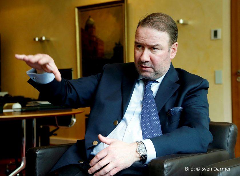 """Ideal-CEO Jacobus: """"Herzstück der Ideal UniversalLife ist eine neu entwickelte Versicherungsmathematik"""""""