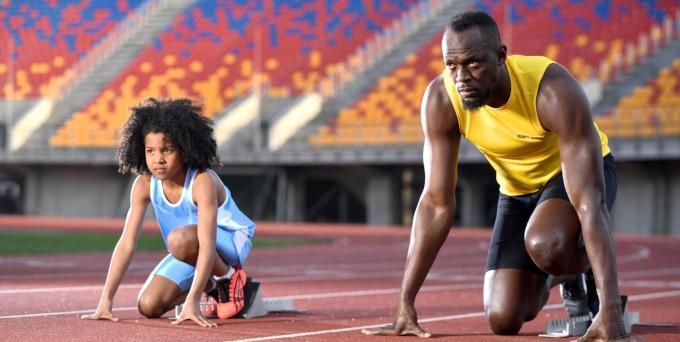 Schnell ist nicht genug: Kinder düpieren Usain Bolt in Allianz-Direct-Werbespot