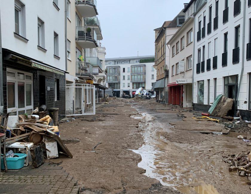 Schadenprognose: GDV rechnet mit fünf Mrd. Euro Flutschäden, Aktuare liegen weit darunter
